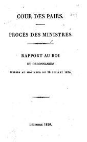 Procès des Ministres