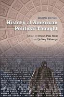 History of American Political Thought PDF