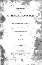 Historia de la hermana santa Inés
