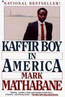 Kaffir Boy in America Book