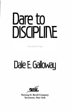 Dare to Discipline Yourself PDF
