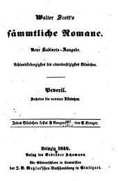 Peveril: eine romantische Erzählung, Bände 6-9