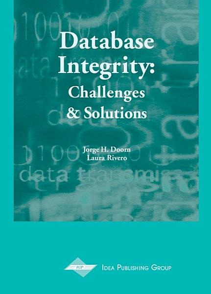 Database Integrity: Challenges and Solutions Pdf Book
