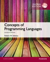Concepts of Programming Languages  Global Edition PDF
