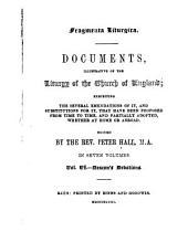 Fragmenta Liturgica: Deacon's devotions
