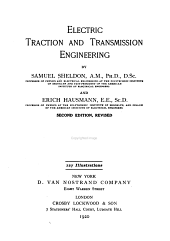 Electric Traction and Transmission Engineering
