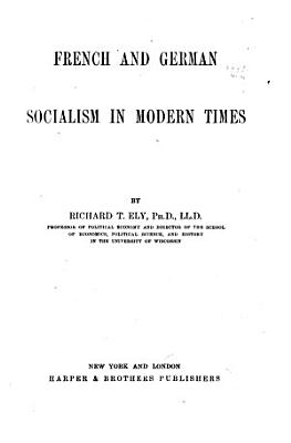 French and German Socialism in Modern Times PDF