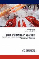 Lipid Oxidation in Seafood PDF