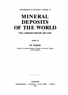 Mineral Deposits of the World PDF