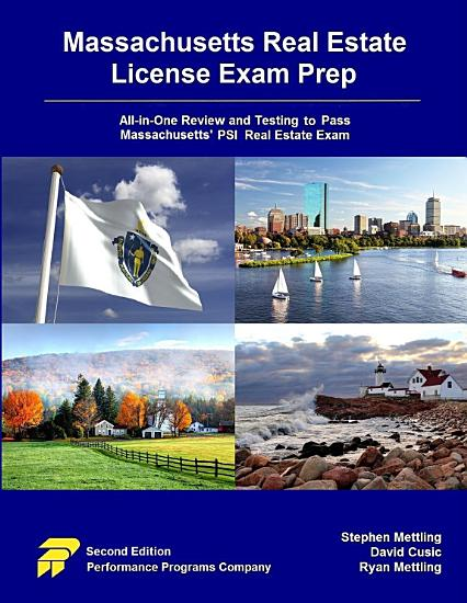 Massachusetts Real Estate License Exam Prep PDF