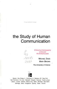 Boxing Plato s Shadow  An Introduction to the Study of Human Communication