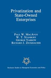 Privatization and State-Owned Enterprises: Lessons from the United States, Great Britain and Canada