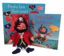 Pirates Love Underpants Book and Plush
