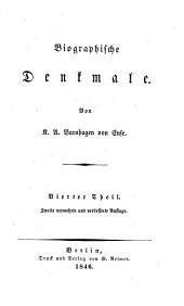 Biographische Denkmale: t. Paul Flemming. Freiherr Friedrich von Canita. Johann von Besser