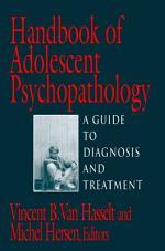 Handbook of Adolescent Psychopathology