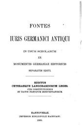 Edictus ceteraeque Langobardorum leges