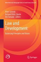 Law and Development PDF