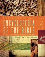 The Zondervan Encyclopedia of the Bible  Volume 2 PDF