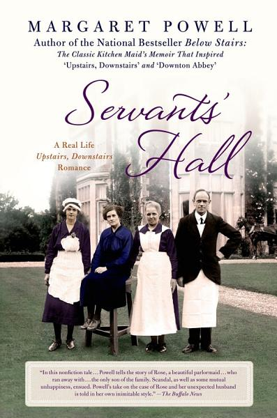 Download Servants  Hall Book