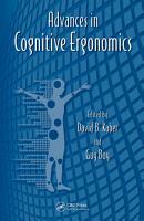 Advances in Cognitive Ergonomics PDF