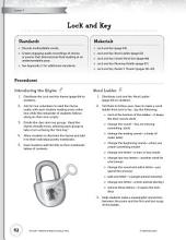 Rhythm & Rhyme Literacy Time: Activities for Lock and Key