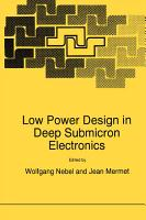 Low Power Design in Deep Submicron Electronics PDF