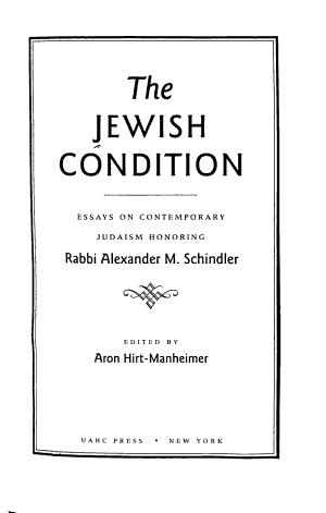 The Jewish Condition