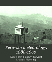 Peruvian Meteorology, 1888-1890: Volume 39