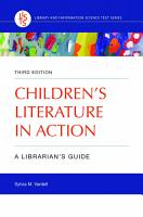 Children s Literature in Action  A Librarian s Guide  3rd Edition PDF