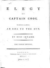 Elegy on Captain Cook. To which is added, an Ode to the Sun