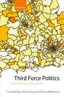 Third Force Politics PDF