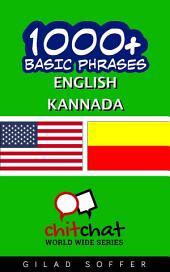 1001+ Basic Phrases English - Kannada