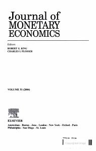 Journal of MONETARY ECONOMICS PDF