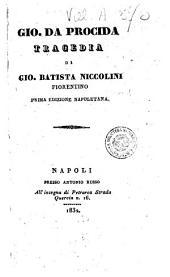 Gio. da Procida tragedia di Gio. Batista Niccolini