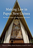 Making Law in Papua New Guinea