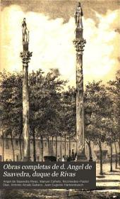 Obras completas de d. Angel de Saavedra, duque de Rivas: Volumen 5
