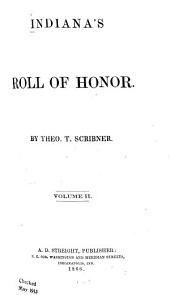 Indiana's Roll of Honor: Volume 2