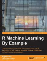 R Machine Learning By Example PDF