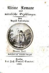 Kleine Romane und moralische Erzählungen: Band 9