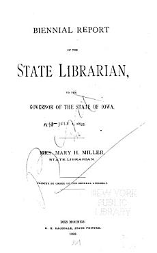 Report of the State Librarian to the     General Assembly PDF