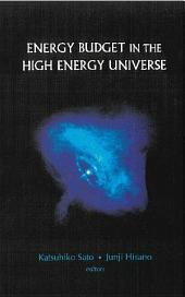 Energy Budget in the High Energy Universe