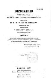 Dizionario geografico storico-statistico-commerciale degli stati di S. M. il Re di Sardegna: Volume 25