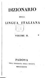 Dizionario della lingua italiana ...