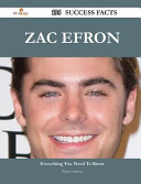 Zac Efron 195 Success Facts - Everything You Need to Know about Zac Efron