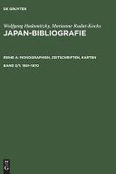 Japan Bibliografie PDF