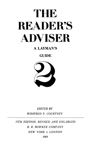 The Reader s Adviser PDF