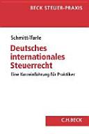 Das deutsche internationale Steuerrecht PDF