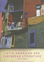 Encyclopedia of Latin American and Caribbean Literature  1900 2003 PDF