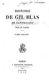 histoire de Gil Blas de Santillane: Volume2