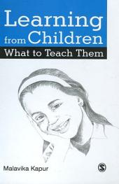 Learning from Children What to Teach Them